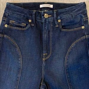 Good American Jeans - GOOD AMERICAN 'Good Waist' Front Seam Slit